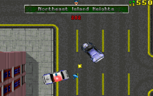 Grand Theft Auto - Best DOS Games